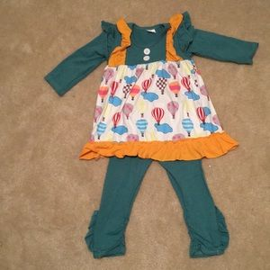 Other - New Girls Size S Hot Air Balloon outfit (2T - 4T)